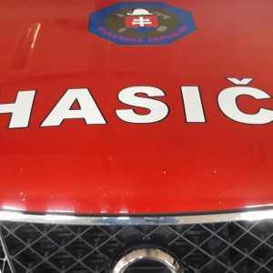 Read more about the article Nálepka hasiči