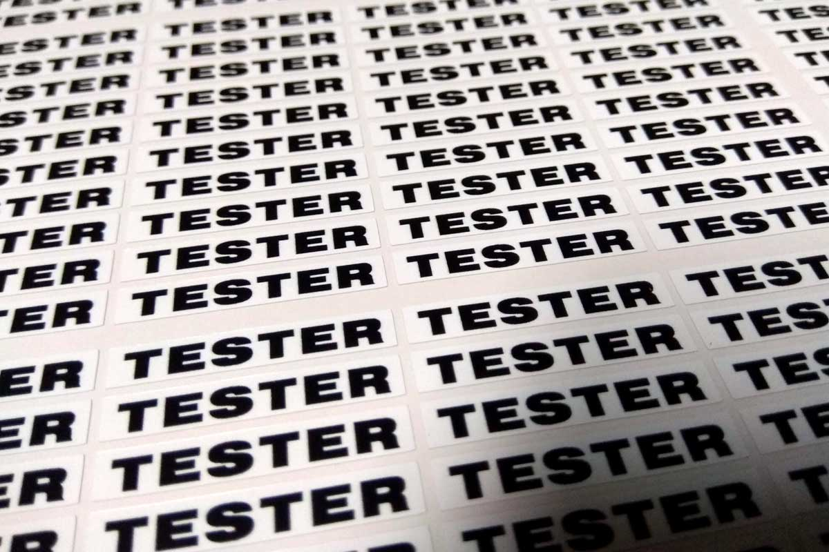 Read more about the article Nálepky TESTER