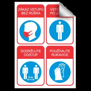 označenie proti COVID 19
