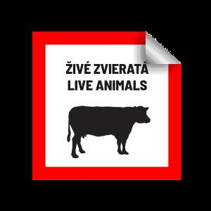 označenie preprava zvierat COVID-19