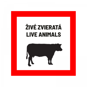živé zvieratá