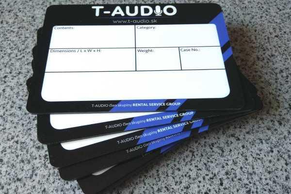 Tabula pre výpožičku Audio.