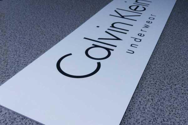 Reklamná tabula Calvin Klein